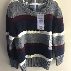 3T Polo Ralph Lauren Sweater New With Tags